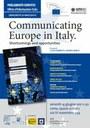 locandina communicating europe in italy