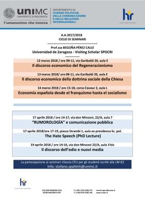 Seminari Begona Perez Calle