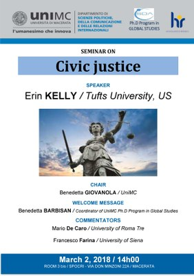 Locandina - Civic justice