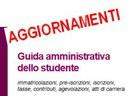 Guida amministrativa dello studente, aggiornamenti