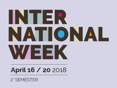 International Week / 2^ semestre