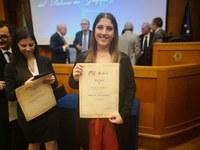 premiazione studentessa Unimc