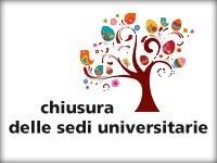 chiusura sedi universitarie