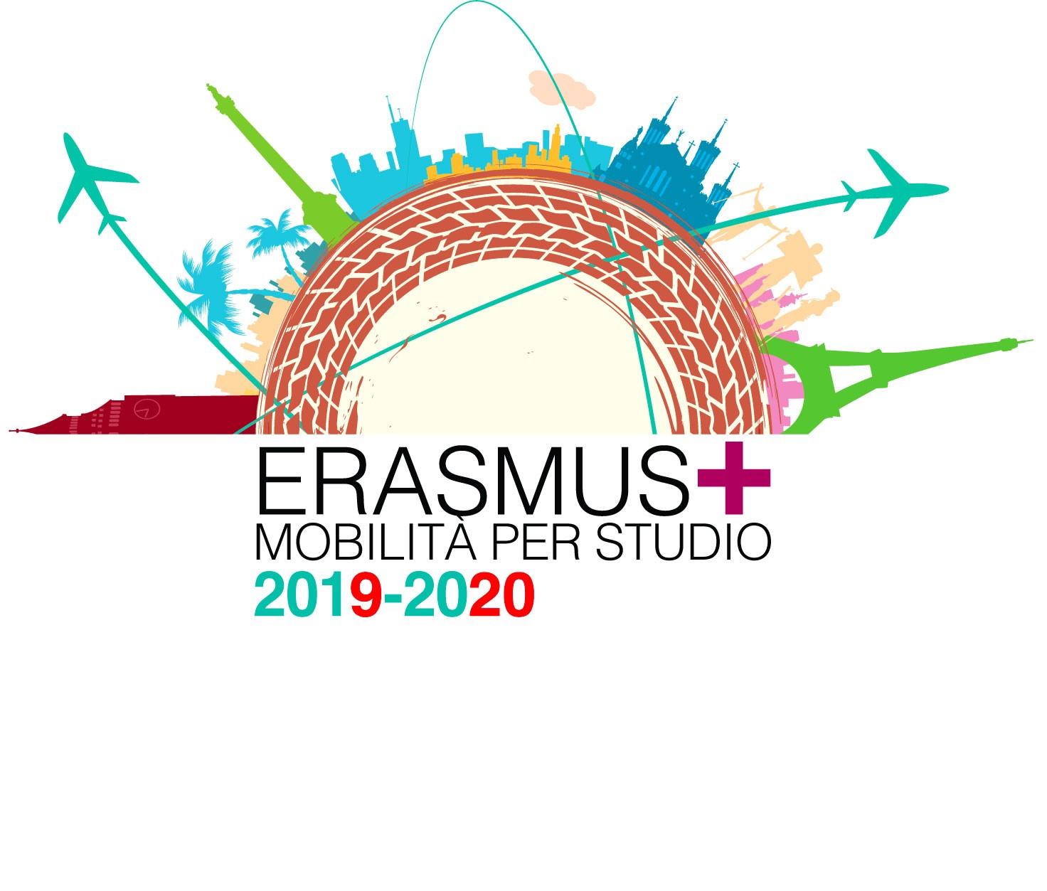 Pubblicazione Bando Erasmus+ Mobilità per Studio a.a. 2019/2020